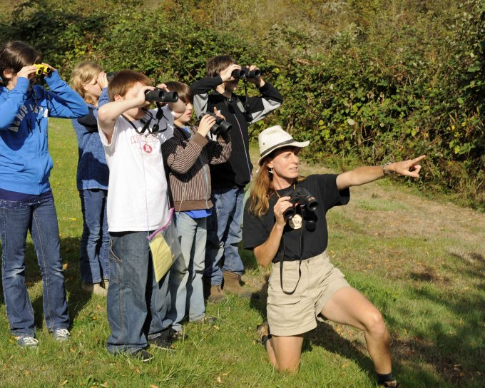 How to choose binoculars for wildlife viewing