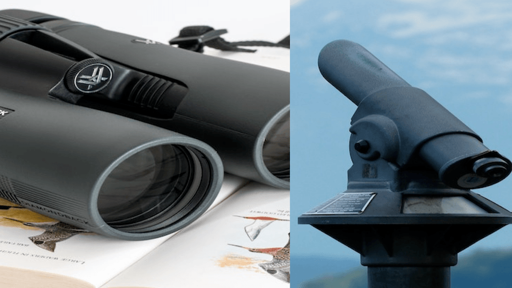 Binoculars Vs Telescopes